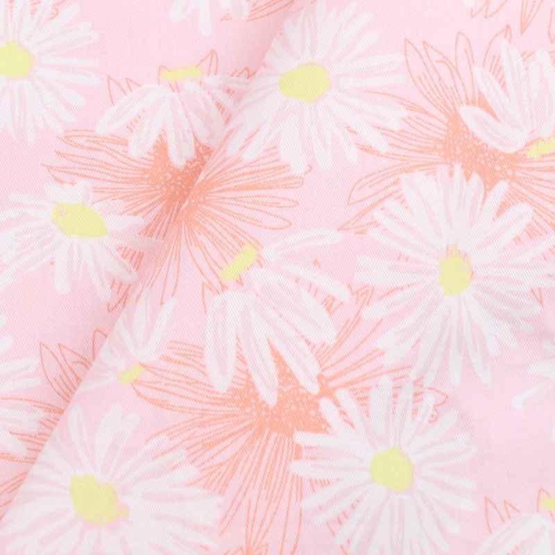 160cm * 50cm tela de flor de tela de algodón DIY cojines de ropa de cama almohada manualidades para vestido tela de patchwork TELA DE TRABAJO A MANO