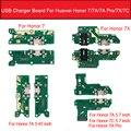 USB зарядное устройство Порт док-плата для Huawei Honor 7A / 7A Pro AUM-L29 / 7C AUM-L41 / Honor 7X зарядное устройство запасные части