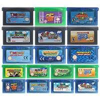 32 Bit Trò Chơi Hộp Mực Tay Cầm Thẻ Mari Series Hoa Kỳ/EU Phiên Bản Dành Cho Máy Nintendo GBA