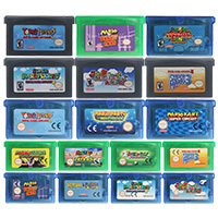 Cartuccia Console per videogiochi a 32 Bit serie Mari versione usa/ue per Nintendo GBA