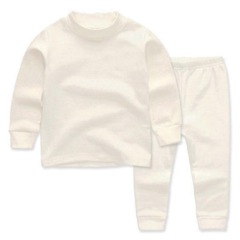 2019 Autumn New Style Children Homewear Set Big Boy Simple Versatile Thick Tracksuit|Nightgowns|   - title=