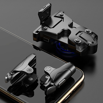 Mobile Gaming Trigger Button L1R1 Shooter Phone Game Pad for iPhone Free Fire PUBG Mobile Joystick Controller Gamepad PUGB L1 R1