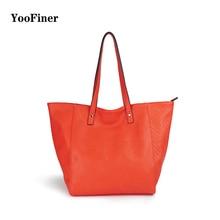 2019 new arrival female high-capacity shoulder bag big solid color shopping handbag fashion for women