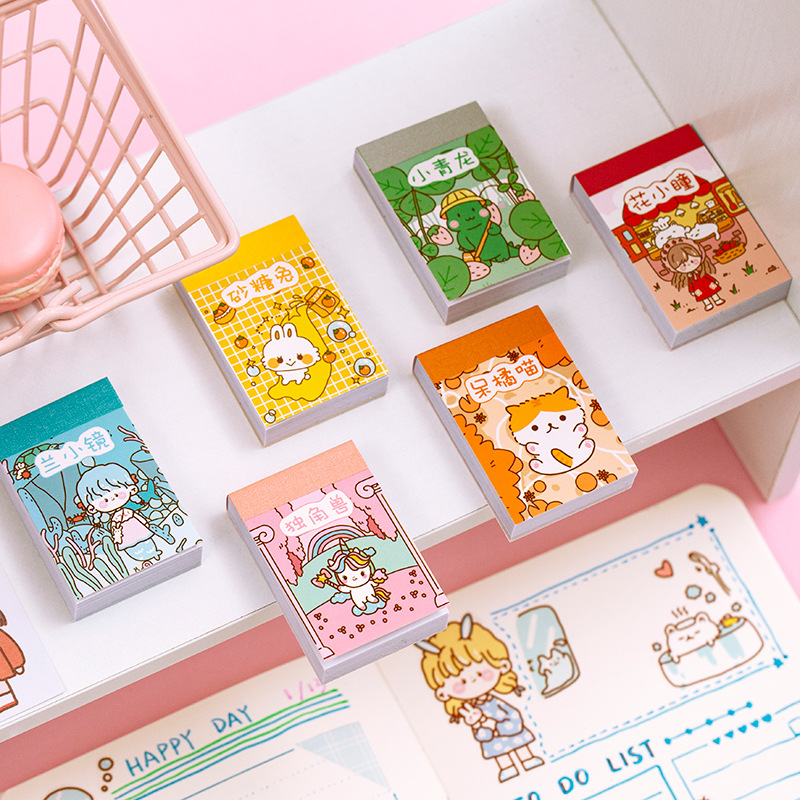 50sheet/1lot Kawaii Stationery Stickers Doudou Sticker Book Diary Decorative Mobile Stickers Scrapbooking DIY Craft Stickers