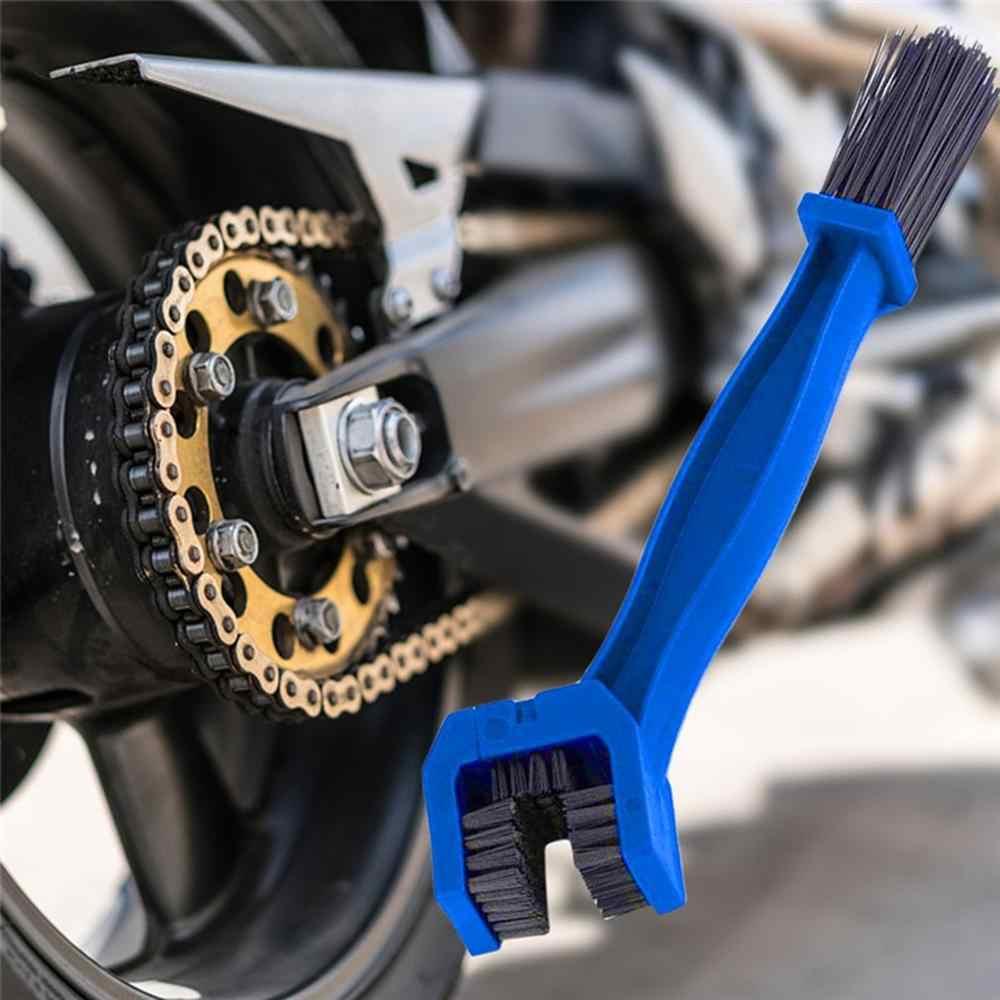 دراجة نارية سلسلة دراجات فرشاة تنظيف فرشاة سيارة كهربائية سلسلة دراجات دولاب الموازنة صيانة الأنظف