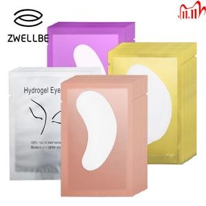 Image 1 - 10/20/50 Pairs Eyelash Pad Gel Patch Grafting Eyelashes Under Eye Patches For Eyelash Extension Paper Sticker Wraps Makeup Tools