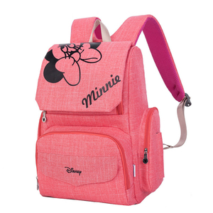 Image 5 - Disney Mumie Windel Tasche Mutterschaft Windel Pflege Tasche für Baby Pflege Reise Rucksack Designer Disney Mickey Minnie Taschen Handtasche