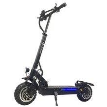 FLJ 11 дюймов внедорожный электрический скутер 60V 3200 Вт мощная складной электрический велосипед мотоцикл скутеры