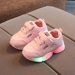 luminous kids shoes for girls boys led sport baby sneakers tenis lumonous casual flat runing lighted toddler kids sneakers