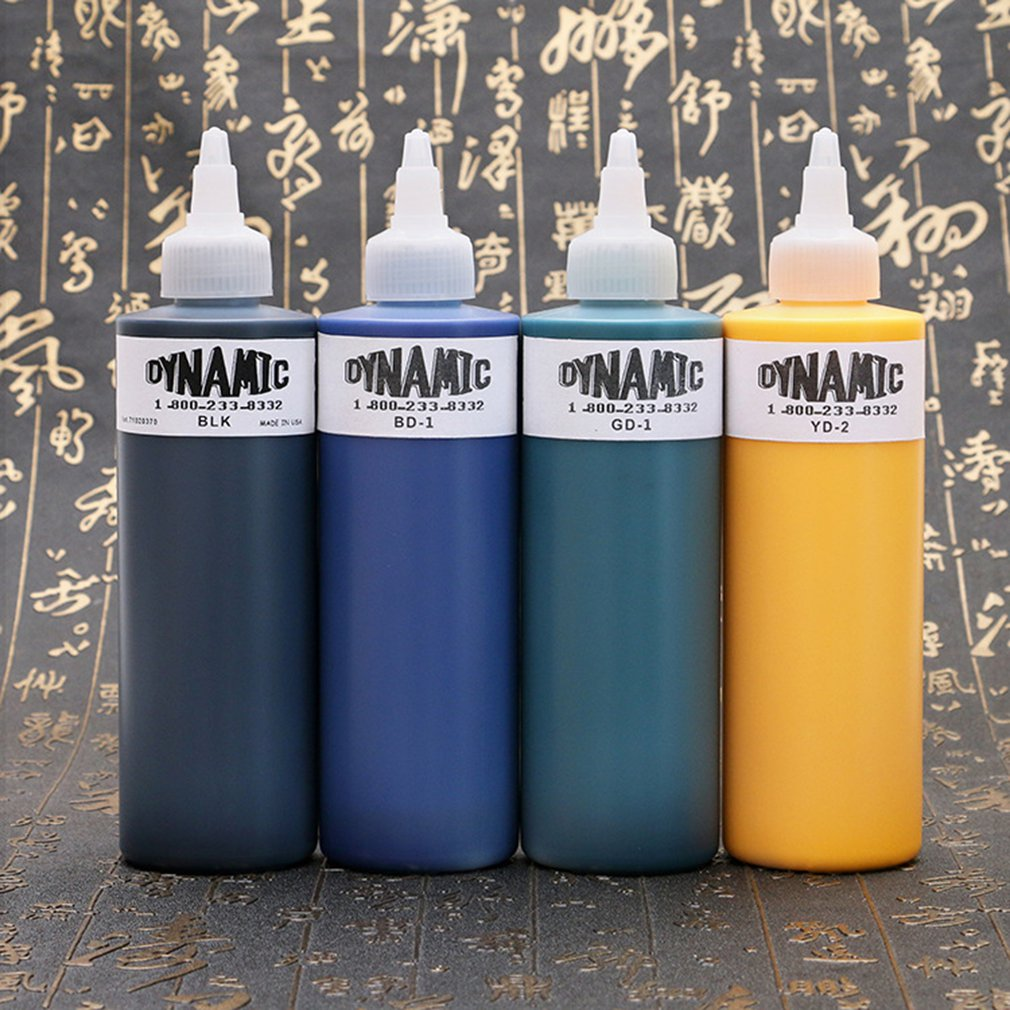 Tattoo Pigment Ink Professional High Quality 240Ml/8Oz Basic Colors Supply