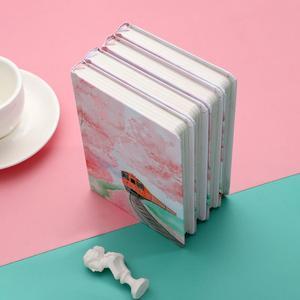 Image 3 - JIANWU ساكورا فتاة دفتر اللون الداخلية صفحة مخطط لتقوم بها بنفسك دفتر يوميات القرطاسية scool اللوازم المكتبية kawaii