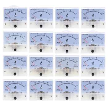 Analog Amperemeter 85C1-A DC Panel Meter Gauge 1A 2A 3A 5A 10A 20A 30A  AMP Current Mechanical Ammeters Pointer Ammeter - sale item Measurement & Analysis Instruments