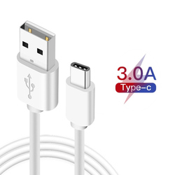 150cm 2m 3m USB Type C Cable For Vivo Z1x Z5 Y90 Y7s Y15 Google Pixel 4 3a 3 XL Fast Charging USB C Charger Mobile Phone Cables