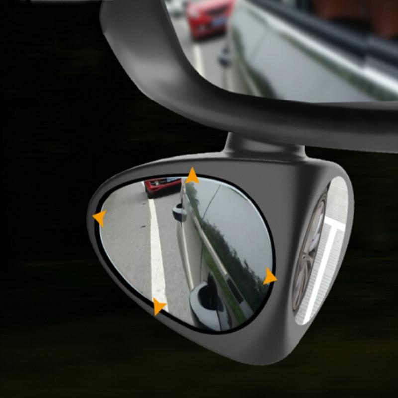 Car Blind Spot Mirror Adjustable Rear View Parking Mirrors for Ssangyong Tivoli XLV Kyron Actyon Korando Rexton(China)