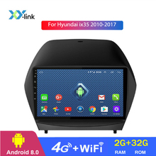 цена на Android 8.1 9 inch car gps Navigation For Hyundai ix35 2010 2011 2012 2013 2014 2015 2016 2017 radio multimedia Player no 2 din