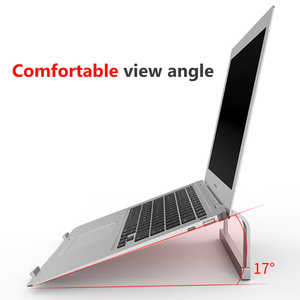 Image 3 - Adjustable Aluminum Laptop Stand Portable Notebook Support Holder For Macbook Pro Computer Riser Stand Cooling Bracket