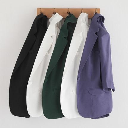 Plus Size 4XL Summer Elegant Short Blazer Women New Slim Female Suit Single Button Short Jacket Outwear Tops LX141