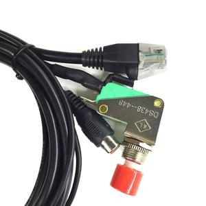 Image 4 - Walkie talkie fahrzeug freisprecheinrichtung Mikrofon für YAESU für FT 1802/1902/2800/7800/7900R/8900R Auto Sets 6 kern 12mb Kristall Kopf