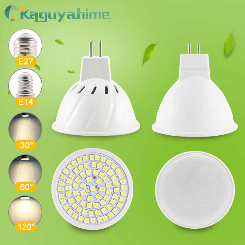 =(K)= Dimmable LED MR16 Spotlight LED Lampu E27 GU10 LED 6W 7W 8W AC 220V 240V Spot Bohlam LED Lampu Dekorasi Rumah Lampada Bombillas
