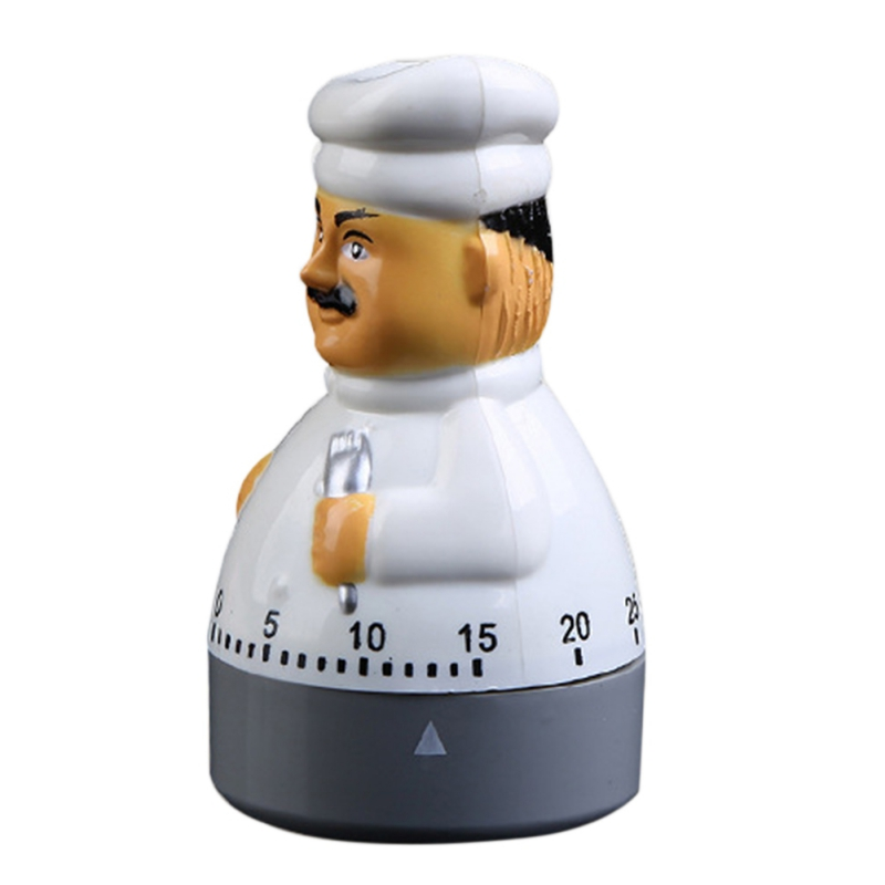 New 1pc  kitchen Chef timer Dial alarm clock electronic assistant home baking tools