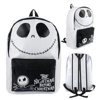 New The Nightmare Before Christmas Cosplay Prop Jack Skellington Backpack Large Capacity Multipurpose Bag School Travel Knapsack
