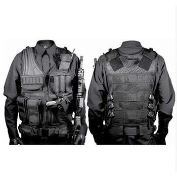 Military Combat Armor Vests Tactical Vest Mens Tactical Hunting Vest Army Adjustable Armor Outdoor CS Training Vest Airsoft tactical vest navy lightweight vest training combat vests cs military airsoft hunting protective combat safety equipment