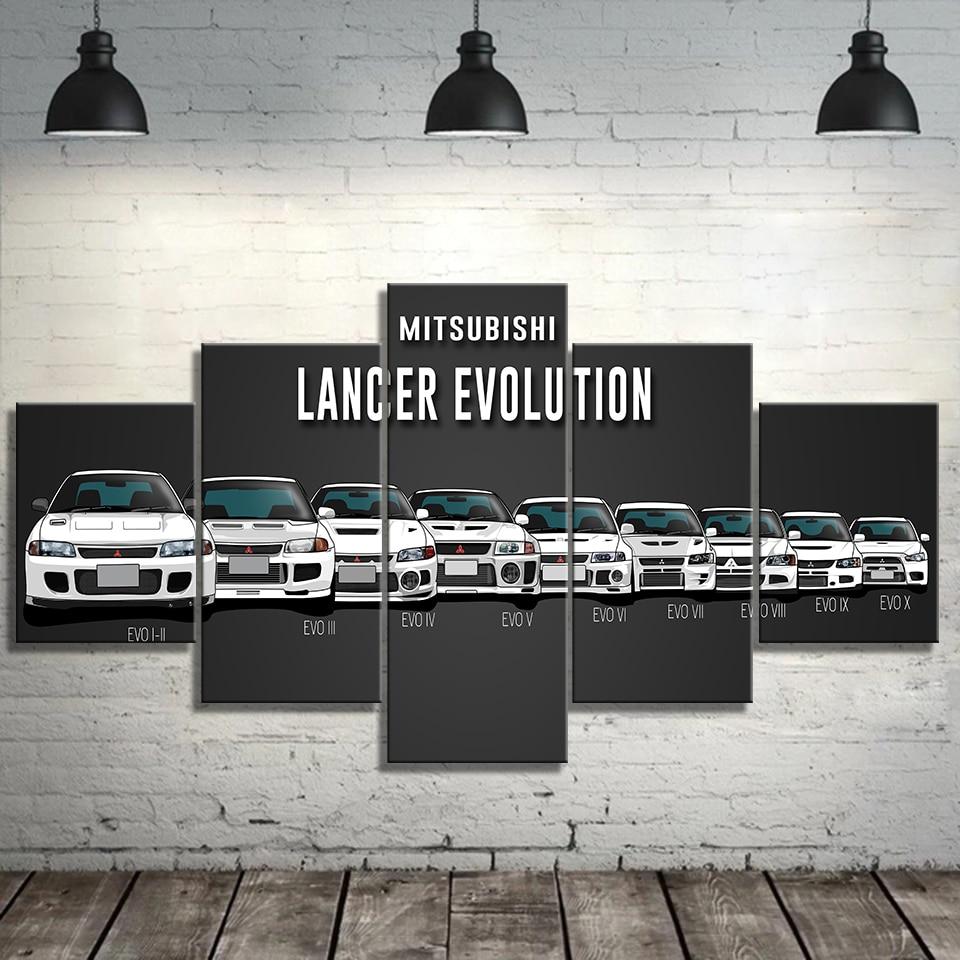NISSAN GTR EVOLUTION SKYLINE  CAR SPEED RETRO WALL POSTER  PRINT LARGE HUGE