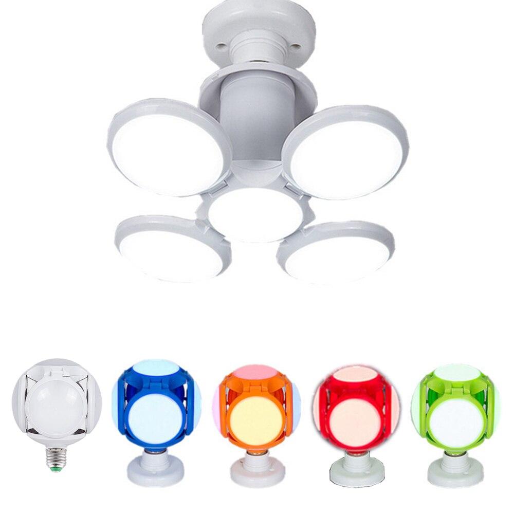 Super Bright LED Folding Bulb E27 AC85-265V 35W 120LED LED Bulb For Children Home Restaurants Light New 360 Ball Pendant Lamp