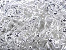 100 шт сережки из нержавеющей стали крючок для ушной проволоки