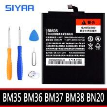 BM35 BM36 BM37 BM38 BN20 סוללה לxiaomi Mi 4C 5C 4S 5S בתוספת Mi4C Mi5S Mi5C החלפת ליתיום פולימר bateria + כלים חינם