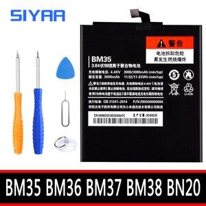 Image 1 - BM35 BM36 BM37 BM38 BN20 סוללה לxiaomi Mi 4C 5C 4S 5S בתוספת Mi4C Mi5S Mi5C החלפת ליתיום פולימר bateria + כלים חינם