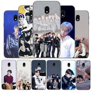 Kpop Bangtan Boys TPU Soft Silicone Phone Case For Samsung Galaxy J3 J5 J7 2017 J3 J4 J6 J7 J8 2018 J4 J6 plus