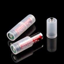 4 uds. AAA a Tamaño AA caja de batería Switcher convertidor cómodo soporte adaptador