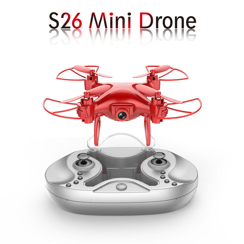Hot Sales S26 Mini Remote-controlled Unmanned Vehicle High-definition Mini Aerial Flight Handheld Quadcopter Portable