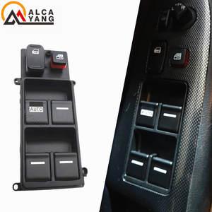 Interruptor de elevalunas el/éctrico delantero izquierdo LH lado del conductor para Honda Accord 2008-2011 2012 Exquisitamente dise/ñado Duradero negro