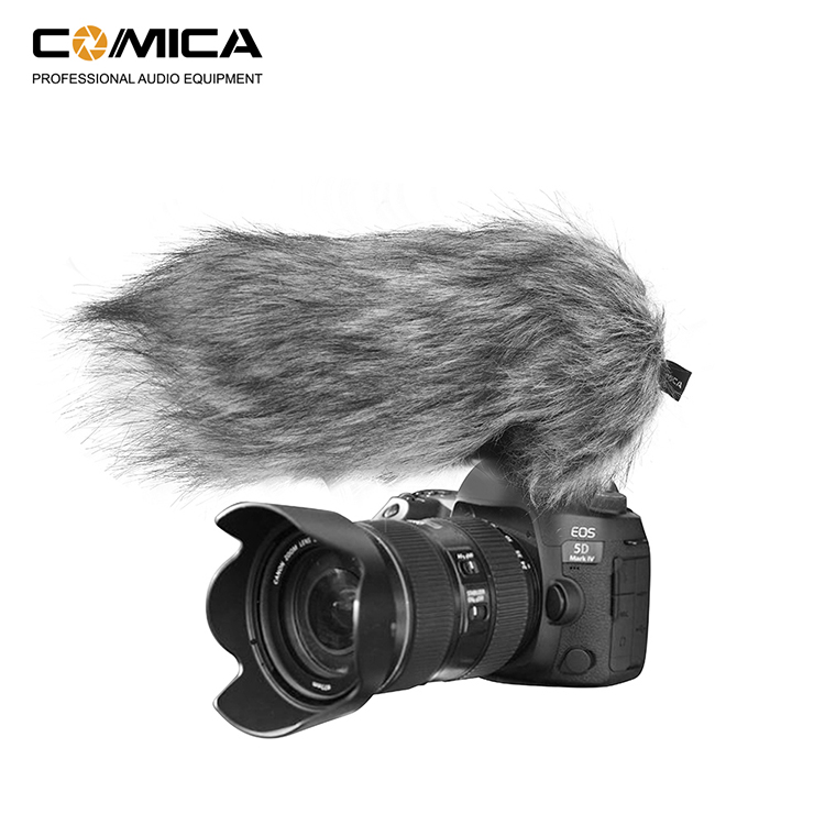 Comica CVM-V30 PRO Camera Microphone Electric Super-Cardioid Directional Condenser Video Microphone for Canon Nikon Sony DSLR image