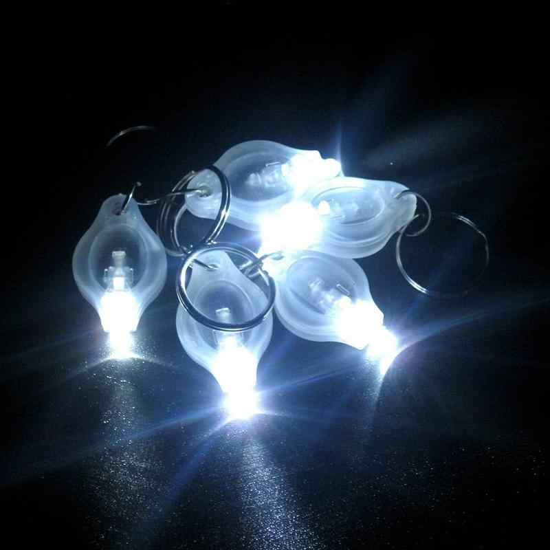 Mini lampe de poche lampe de poche LED porte-clés porte-clés lumineux à LED