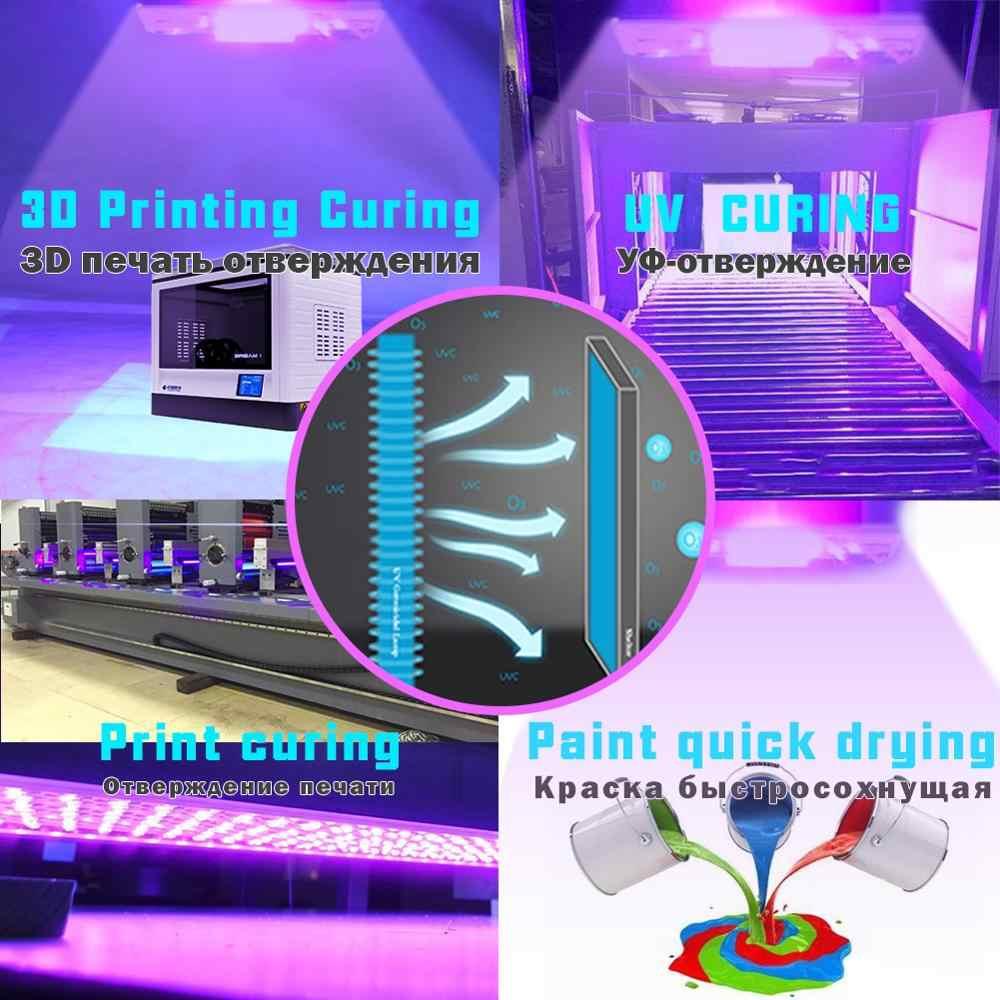 1 Sec Colla Secca Led UV DEL GEL Che Cura Lampada 3D Stampante Macchina da Stampa Vernice di Inchiostro di Seta Schermo Versione Ultravioletta Cura metallo 365 395