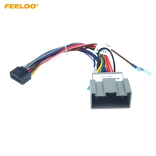 Adaptor Chevrolet Wiring-Harness Audio Power Car-Stereo 16PIN FEELDO for Sail Lova Buick/Excelle/Power/..