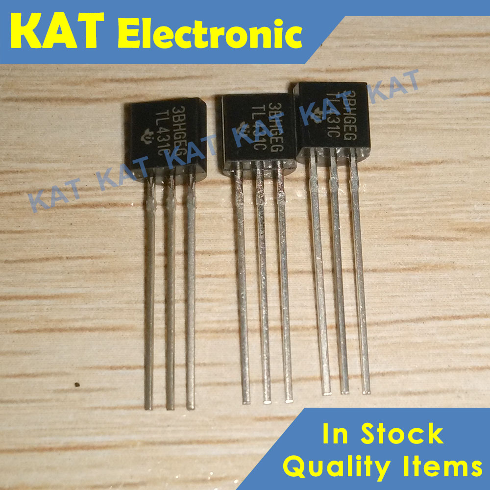 10PCS/Lot <font><b>TL431C</b></font> TO-92 New&Original PROGRAMMABLE VOLTAGE REFERENCE image