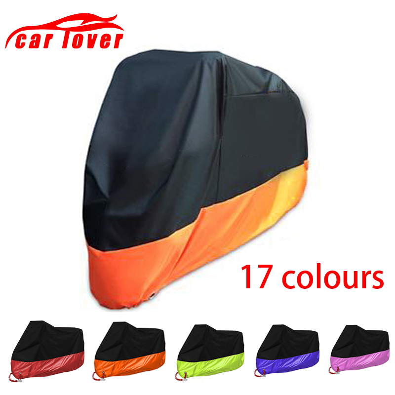 Motorcycle Cover Universal Outdoor Uv Protection Motorcycle Rain Cover Dust Prevention Motorbike Raincoat Moped Scooter Cover