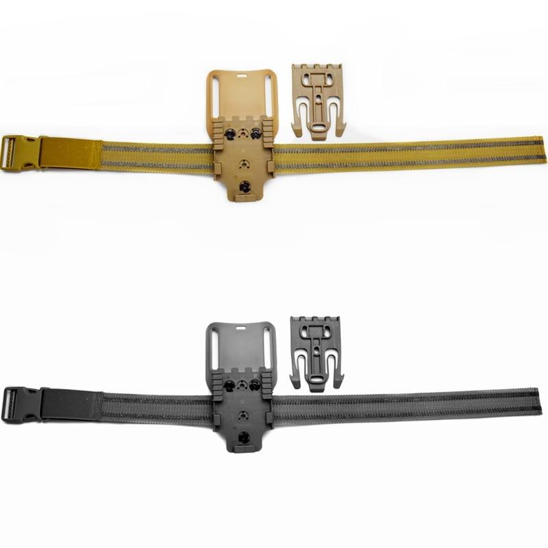 Safariland Drop Leg Elastic Band Strap Thigh Strap For Hunting Tactical Waist Belt Platform With QLS 19 22