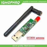 Wireless Zigbee CC2531 CC2540 Sniffer Bare Board Packet Protocol Analyzer Module USB Interface Dongle Capture Packet Module