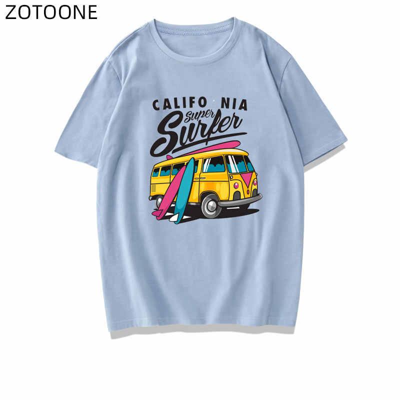 ZOTOONE ברזל על רכב תיקוני אוטובוס אופנוע מדבקת העברות עבור בגדי Diy תיקון לילדים העברת חום אבזר אפליקציות G