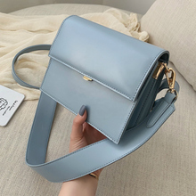 Designer Handbag Messenger-Bags Square Wide-Strap Shoulder Small Casual New-Quality Women's