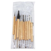 Clay sculpture carving tool knife  Clay Sculpting Kit Sculpt Smoothing Wax Carving Pottery Ceramic Tools 5pcs 8pcs carving moulding kit soft pottery tools knife diy professional wooden tool sculpting economic pottery sculpting tools