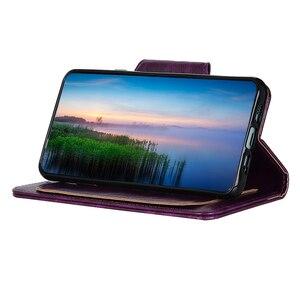 Image 5 - 6 Slot Per Schede di Vibrazione Del Raccoglitore Custodia In Pelle per Sony XZ5 XZ4 XZ3 Xperia 20 10 Più L3 Del Basamento Chiusura Magnetica ID Carte di Credito Tasca