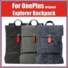 在庫オリジナルoneplusエクスプローラのバックパックスマートとシンプルなコーデュラ素材旅行ナップザック