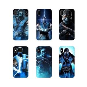 Чехол для телефона Sub-zero - Mortal Kombat X, для Apple iPhone X, XR, XS, 11Pro, MAX, 4S, 5C, SE, 6S, 7, 8 Plus, ipod touch, 5, 6, аксессуары