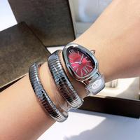 Top Brand Bracelet Snake Watch New Luxury Women Fashion Watches Female Dress Clock Montre Femme